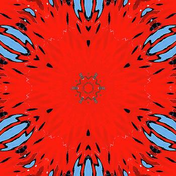 Fire Water Kaleidoscope by Cindi Ressler