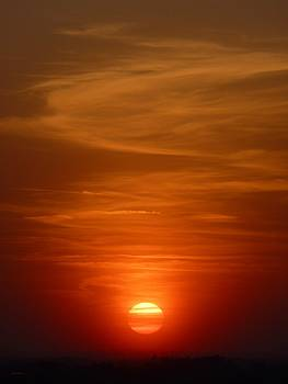Fireball at Sunset by Tim Mattox