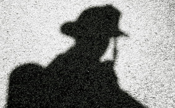 Firefighter's Silhouette by Justin Ellis