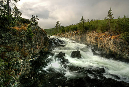 Firehole First Fall by David Andersen