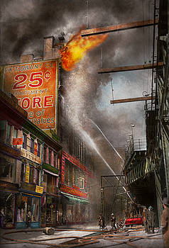 Mike Savad - Fireman - New York NY - Show me a sign 1916