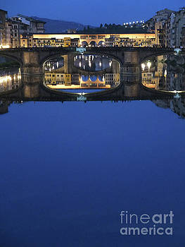Firenze Blue III by Kelly Borsheim