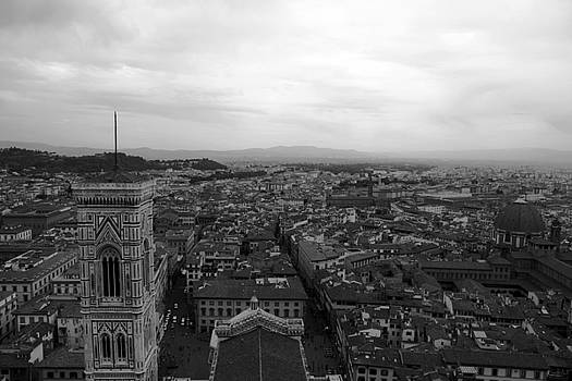 Firenze nella tempesta by Francesco Scali