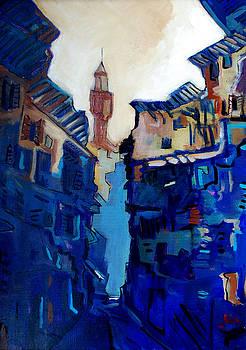 Firenze Street Study by Kurt Hausmann