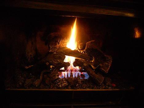 Fireplace by Emma Sechrest