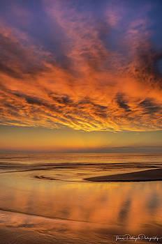 Firery Sunset by Thomas Pettengill