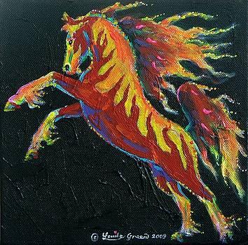 Firestorm Pony by Louise Green