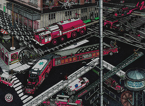Firetrucks by Richie Montgomery