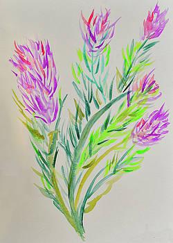 Fireweed by Lisa Von Biela