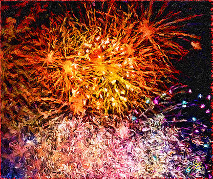Fireworks 11 by Joan Reese