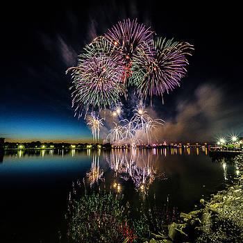 Fireworks 19 by Tom Clark