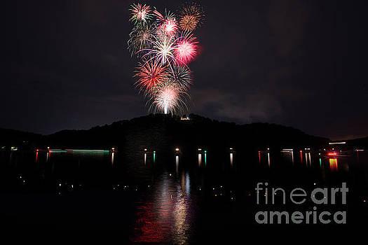 Dan Friend - Fireworks at Cheat Lake