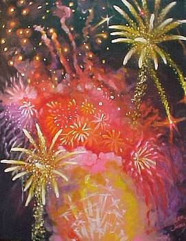 Fireworks Celebration by Bobbi Baltzer-Jacobo