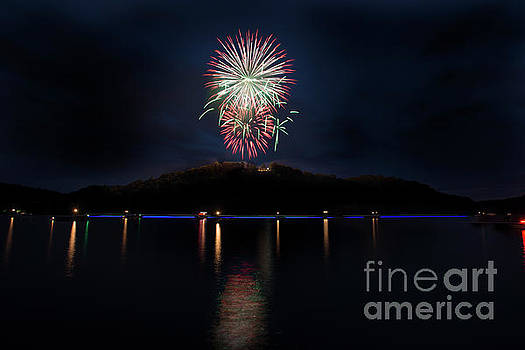 Dan Friend - Fireworks on Cheat Lake