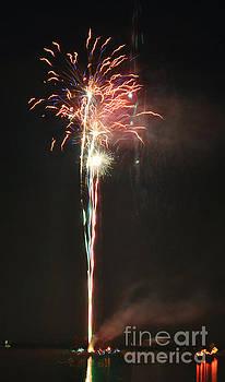 George D Gordon III - Fireworks on the Lake