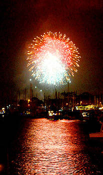 Glenn McCarthy Art and Photography - Fireworks Over Dana Point Harbor