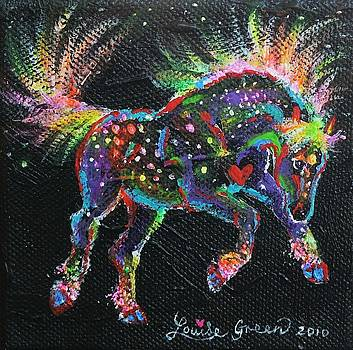 Fireworks Pony by Louise Green