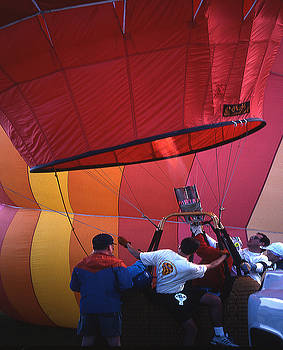 Firing Hot-Air Balloon by Gene Garrison