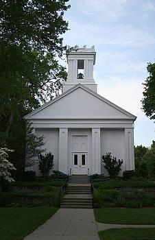First Baptist Church in Wickfor RI by Rebecca Smith