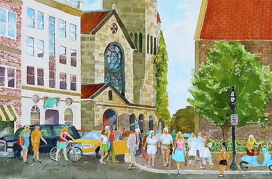 First Baptist Church of Boston by Harding Bush