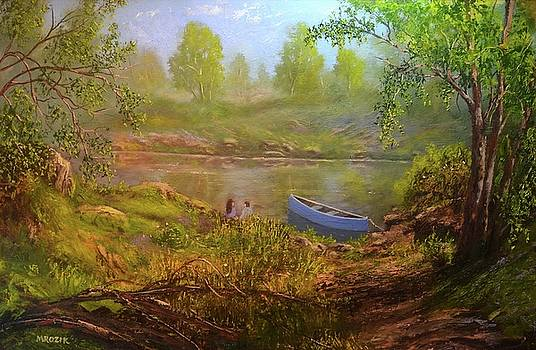 First Date  by Michael Mrozik