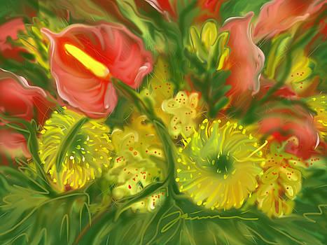 First Day Of Spring by Jean Pacheco Ravinski