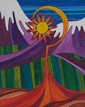 First Flower by Jill Kelsey