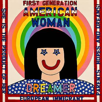 First Generation American Woman by MaryAnn Kikerpill