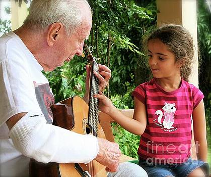 First Guitar Lesson by The Art of Alice Terrill