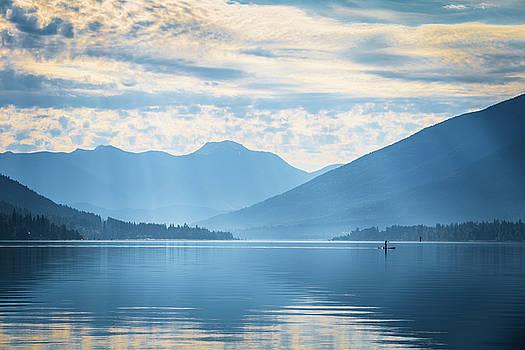 First Light on Kootenay Lake by Sam Egan