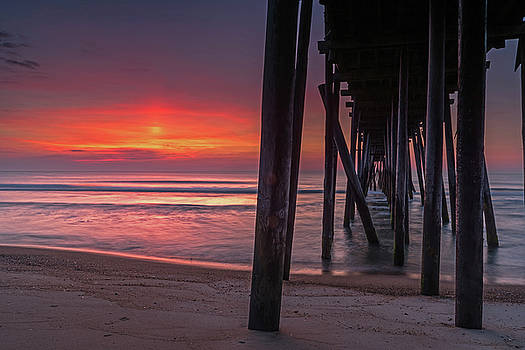 First Light Under The Pier by Eric Albright