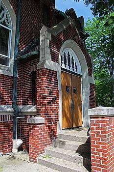 First Methodist Church III by Michiale Schneider
