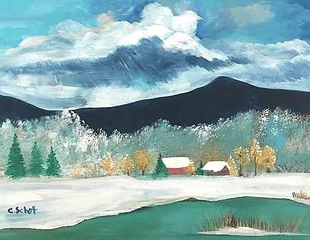 First Pennsylvania Snow by Christina Schott