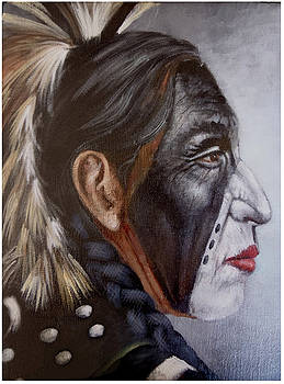 First People I by Geraldine Arata