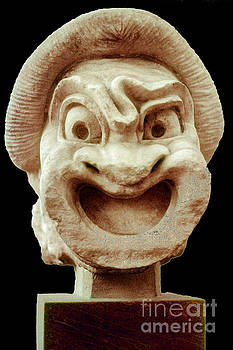 Bob Phillips - First Slave of Comedy - Ancient Theatre Mask