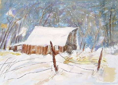 First Snow by Barbara Pearston