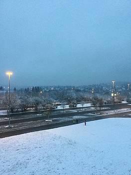 First snow by Heinz Rainer