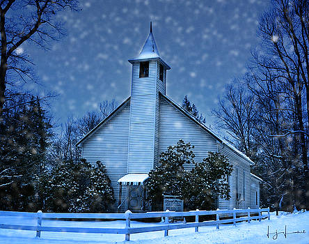 First Snow by Lj Lambert