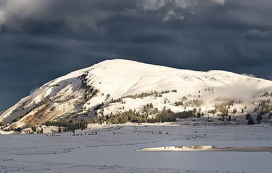First Snow on Fremont Pass by Mike Hendren