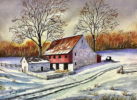 First Snow by Raymond Edmonds