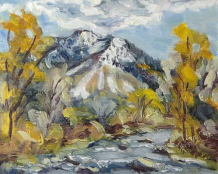 First Snow Steamboat Springs Colorado by Zanobia Shalks