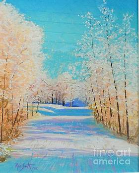 First Snowfall #2 by Rae  Smith PAC