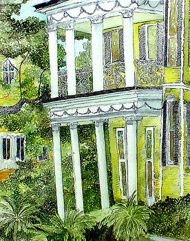 First Street House New Orleans by Jo Anna McGinnis