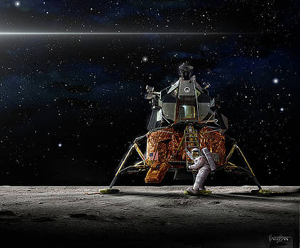 James Vaughan - First to the Moon - Apollo 11