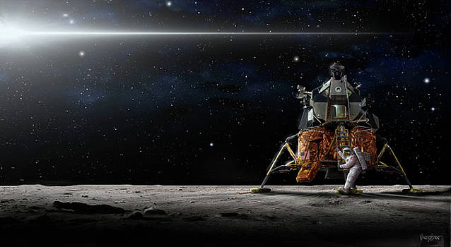 James Vaughan - First to the Moon - Apollo 11 - wide