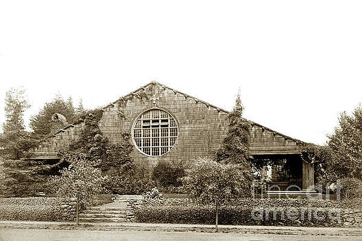 California Views Mr Pat Hathaway Archives -  First Unitarian Church Berkeley CA Circa 1905
