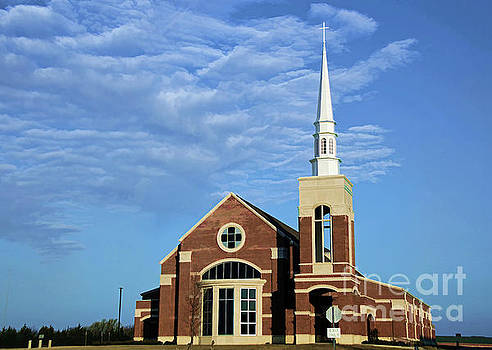 First United Methodist Church by Diana Mary Sharpton