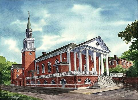 First United Methodist Church by Raymond Edmonds