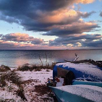 #firstsnow #provincetown by Ben Berry