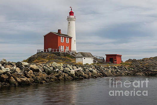 Fisgard Lighthouse 1 by Jerry Fornarotto